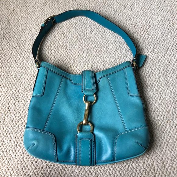 c8f547d24cc1 Lovely Blue Leather Tote  WL86 – Advancedmassagebysara